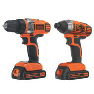 20V MAX* Lithium Ion Drill/Driver + Impact Driver Combo Kit