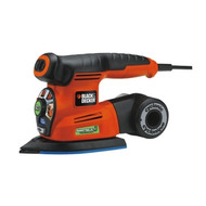 4-In-1 2 Amp Cyclonic Smart Select Sander