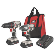 20V Max Lithium 2 Tool Combo Kit (Drill/Impact)