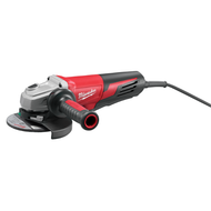 "6"" 13 Amp Angle Grinder  - Paddle Switch, Lock-On"