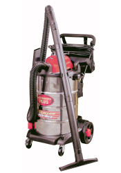 Wet/Dry Vacuum, Stainless,16 Gallon, 6.5 Peak HP