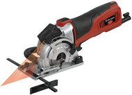 "Mini Plunge Saw, 3-1/2"", Kit, w/laser & 3 blades"