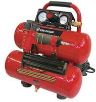 "Air Compressor, Oil-Free, 18 ga. x 2""Brad Nailer Kit"