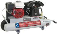 Air Compressor, Gasoline,150 PSI, 5.5 HP (Honda engine)