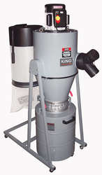 Dust Collector, Cyclone 1.5 HP, 1050CFM
