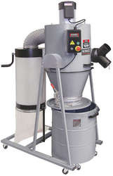Dust Collector, Cyclone 2 HP, 1450CFM