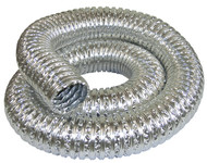 Metal dust collection hoses & clamps kit, fireproof, 1300C