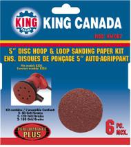 """Sanding Paper kit, 5"""" Disc, 8305 (6 pc)"""
