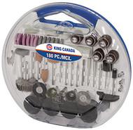 Accessory Kit, Rotary Tool, 180 pc