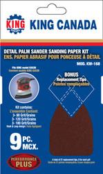 Sanding Paper kit, 8303N (9 pc)