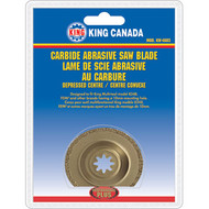 Carbide Abrasive Saw Blade, Depressed Centre