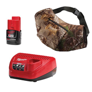M12ª Cordless Realtree Xtraª Camo Heated Hand Warmer Kit