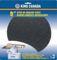 "Disc, Abrasive, 9"" x 100 Grit Pkg 3"