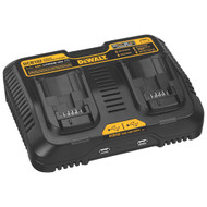 12V/20V MAX Li-Ion Dual Port Jobsite Charging Station w/2 USB ports