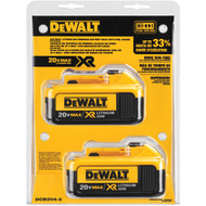 20V MAX Li-Ion Battery 2-Pack (4.0 Ah)
