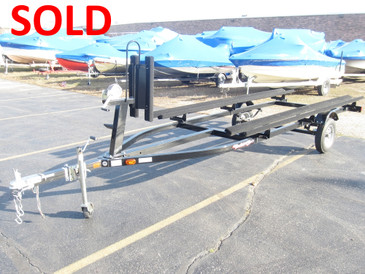 Used Yacht Club Pontoon Boat Bunk Trailer - SOLD