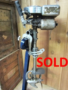 Johnson 1.5 HP Sea Horse Single, J-25 - 97496 - (1929) - SOLD