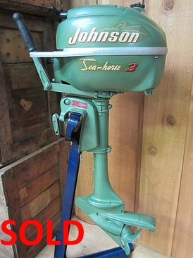 Johnson 3 HP - JW-10 - 1005923 - (1952-54) - SOLD