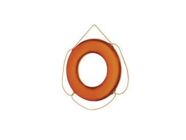 "Life Ring Buoy 24"" Orange Cal June - 58-GOX24"