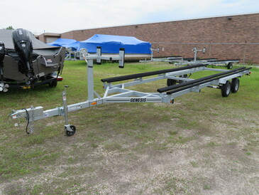 Genesis 24' Galvanized Pontoon Boat Bunk Trailer - SOLD