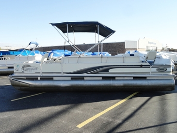 Used 2000 Lowe Suncruiser 224 Trinidad Fishing Pontoon Boat