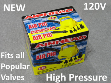Airhead 120V High Pressure Pump Air Pig Inflatable Tube Mattress AHP-120AP