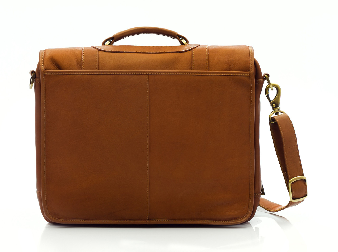 Muiska - Lucas - Leather Messenger Bag - classic look but modern functionality