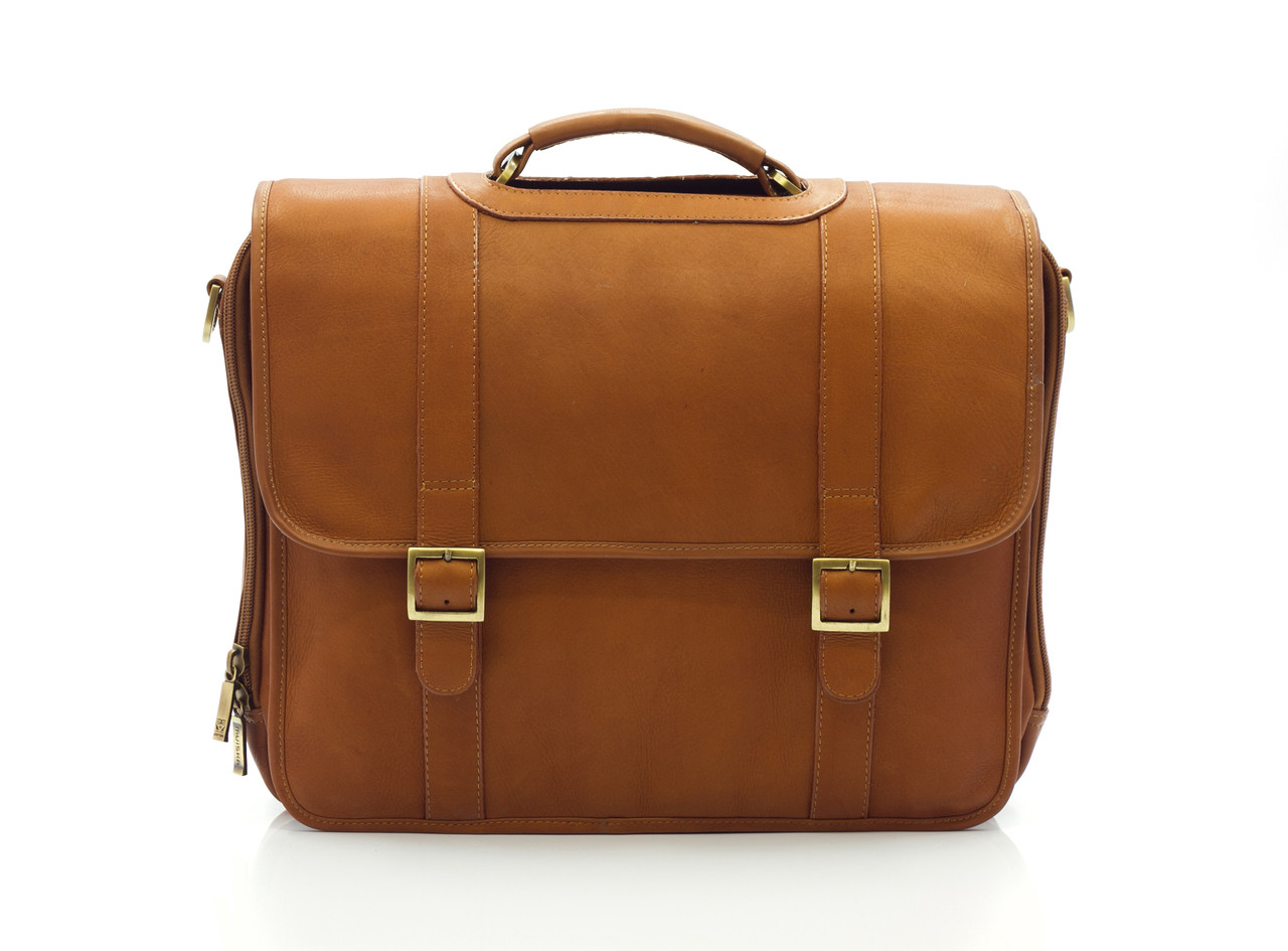 Muiska - Lucas - Men's Colombian Leather Laptop Bag handcrafted of fine Colombian leather