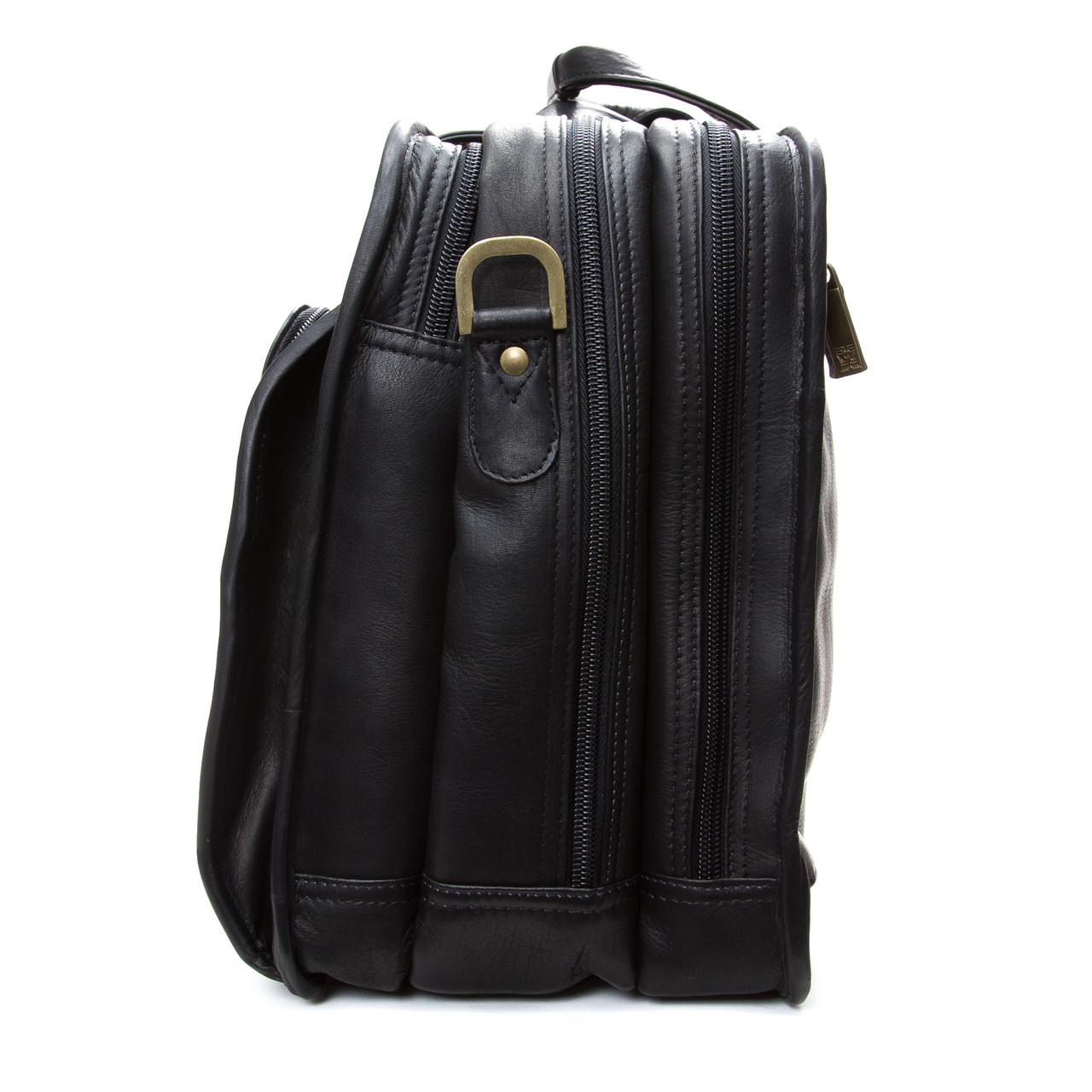 "Muiska - Madrid - 17"" Triple Compartment Laptop Brief"