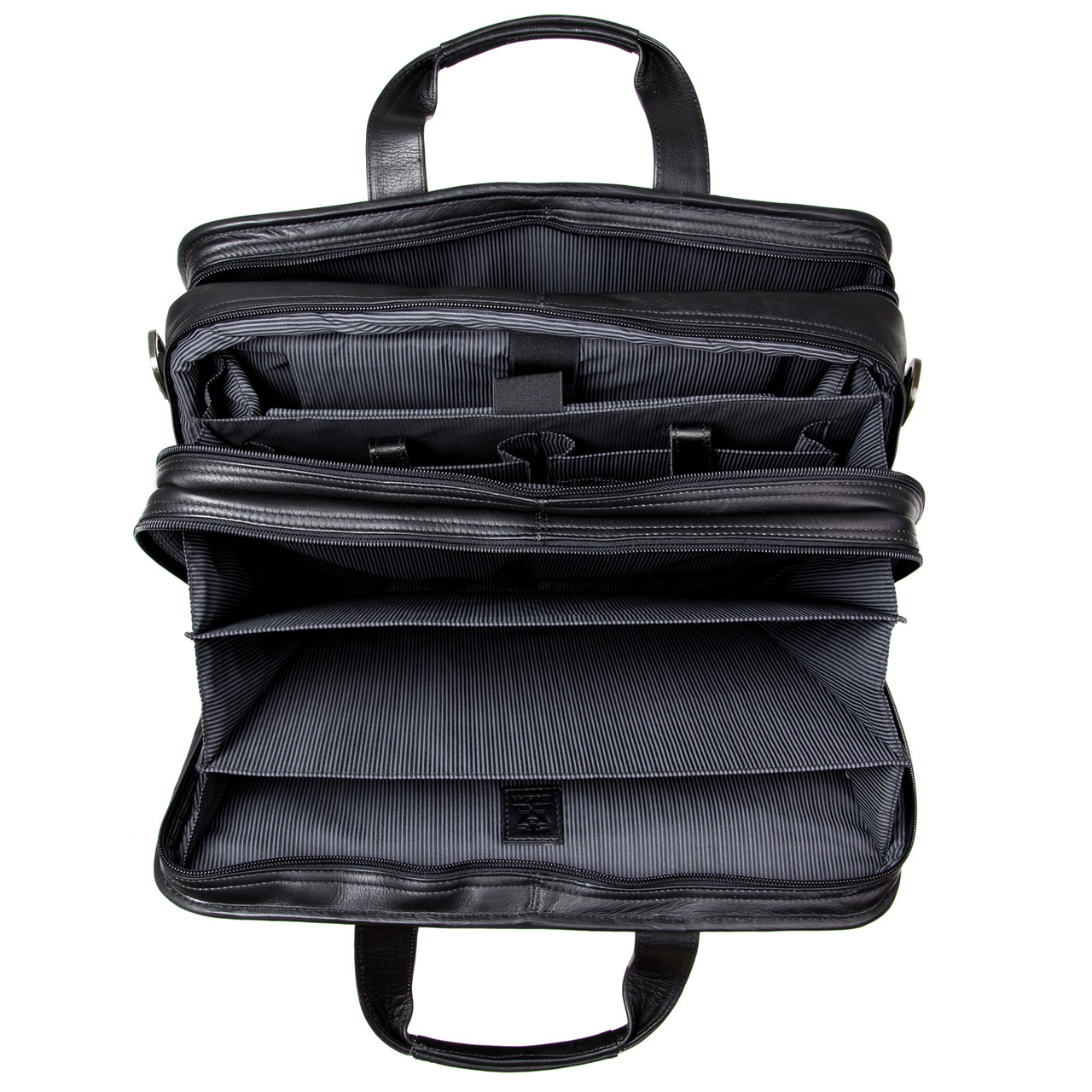 "Muiska - Madrid - 17"" Laptop Bag expands to suit your business needs"