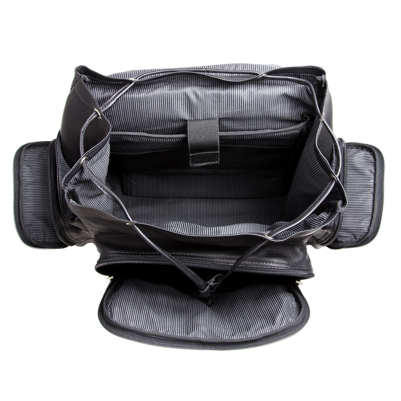 Muiska - Brooklyn -Spacious and versatile interior with a padded 17-inch Laptop Compartment