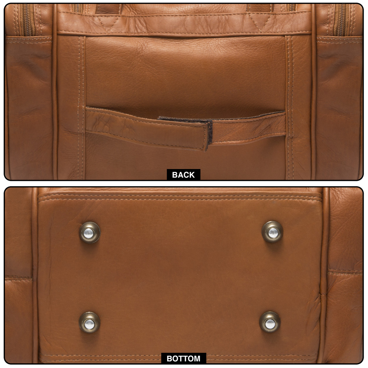 Muiska - Marco - features an adjustable strap that can be slid over carry-on luggage handle for easy transport.