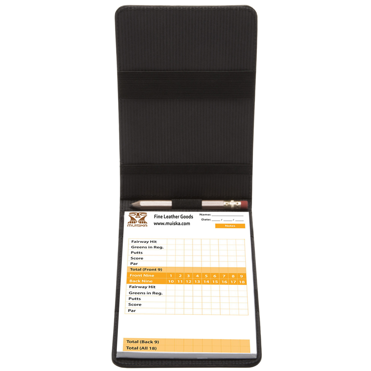Muiska - Gino - scorecard holder comes with a pencil.