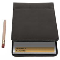 Muiska - Gino - Performance Leather Golf Scorecard Holder