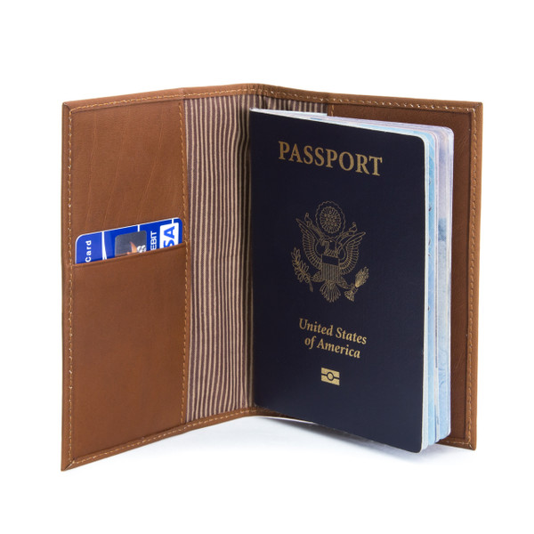Muiska - Luca - Slim Leather Passport  and Ticket Holder