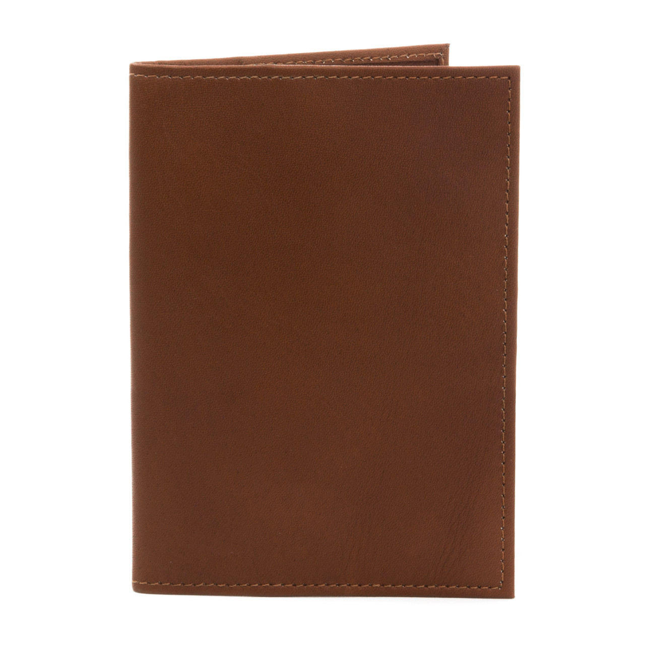 Muiska - Luca - Lightweight passport holder in Saddle