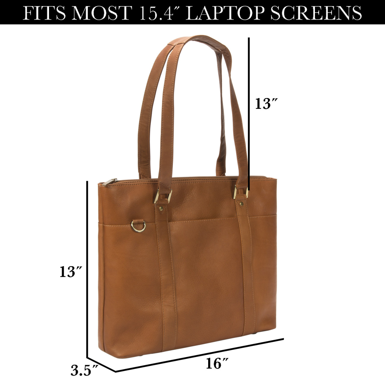 Muiska - Taipei -  15.4-inch Laptop Women's Business Tote with thirteen inch should straps