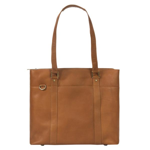 Muiska - Taipei - 15.4-inch laptop business bag - saddle leather