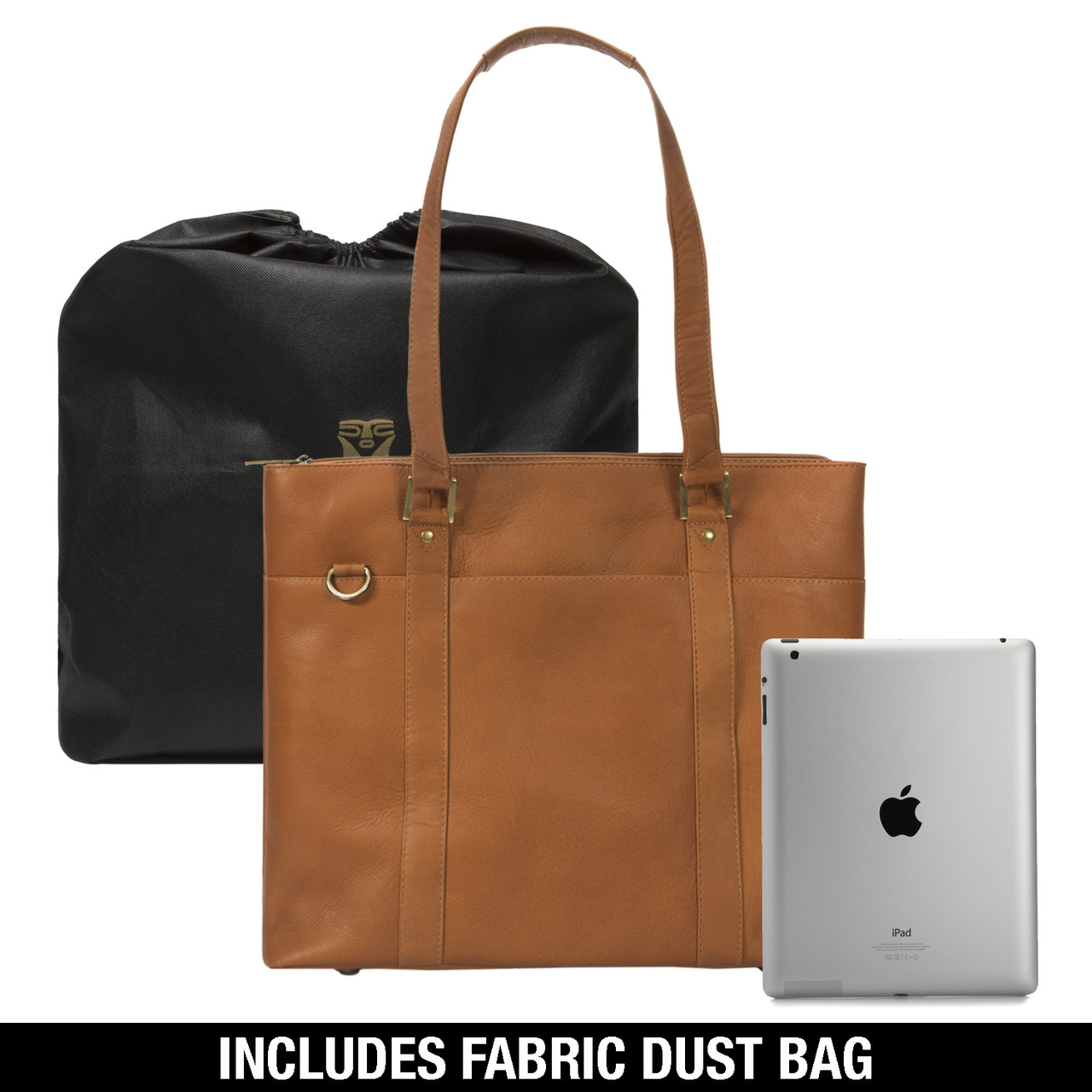 Muiska - Taipei - 15.4-inch women's laptop business tote bag fits an iPad perfectly comes with dust bag