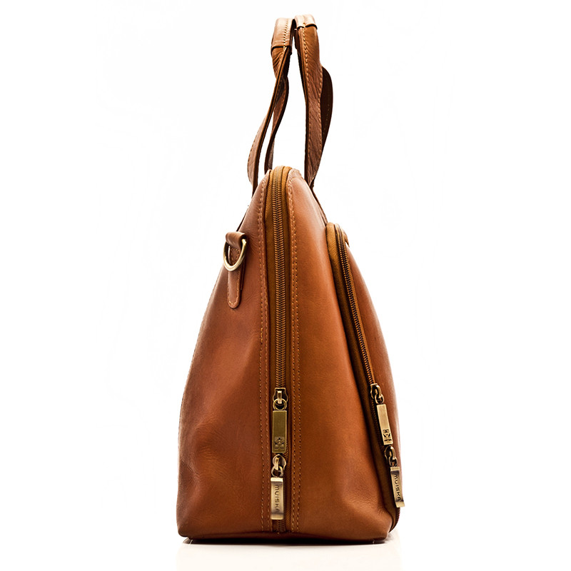 Ivanka - Women's Business Brief - Side View, Saddle