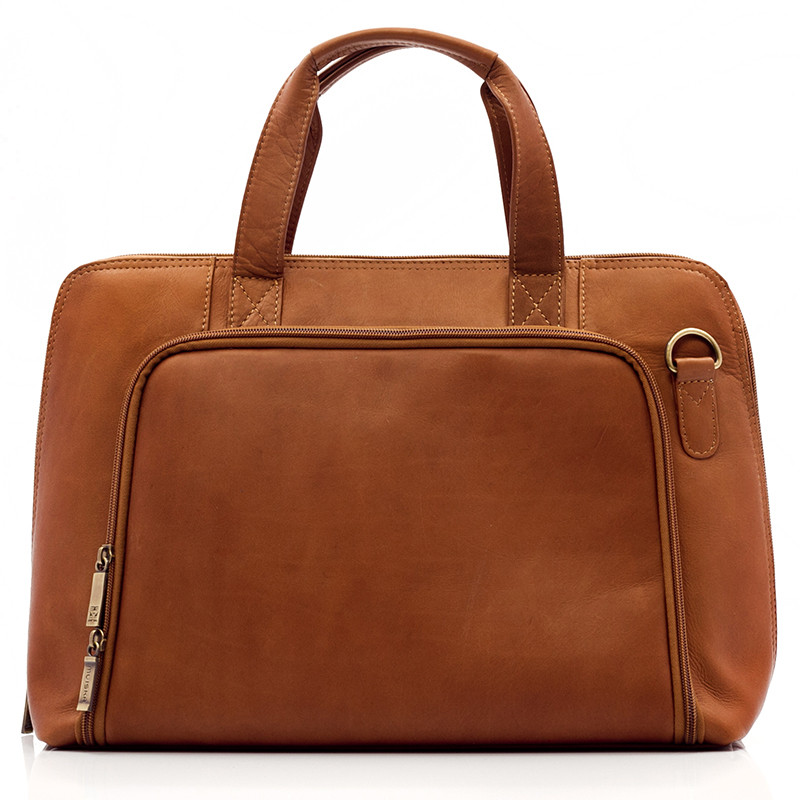 Ivanka - Women's Business Brief - Front View 2, Saddle