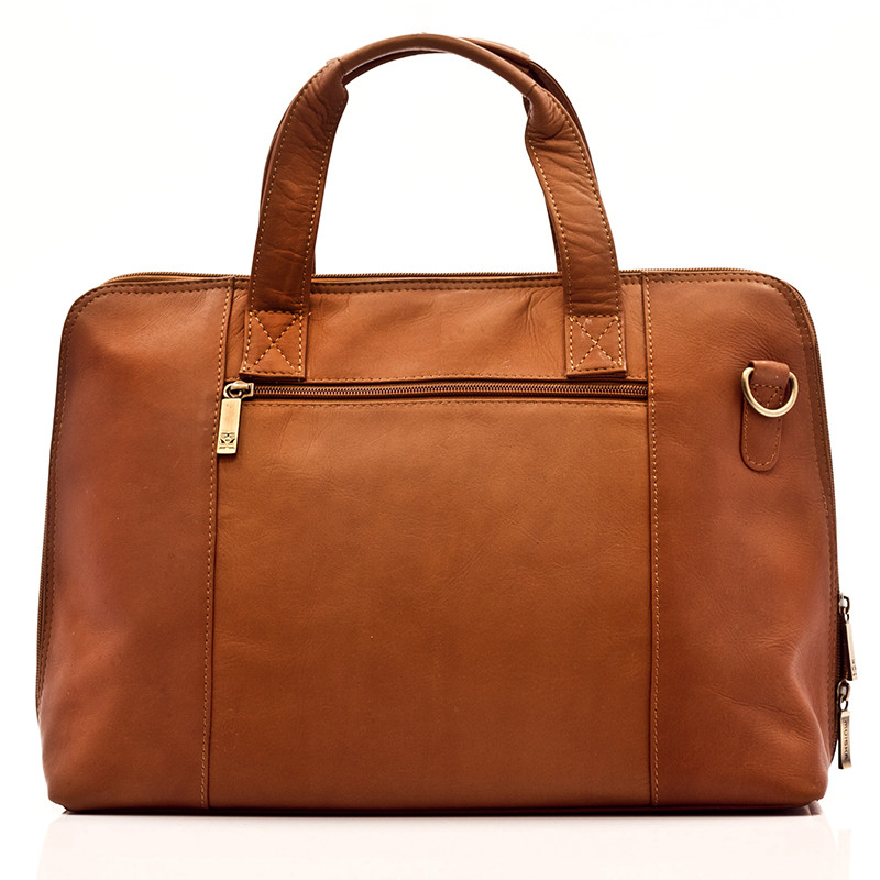 Ivanka - Women's Business Brief - Back View, Saddle