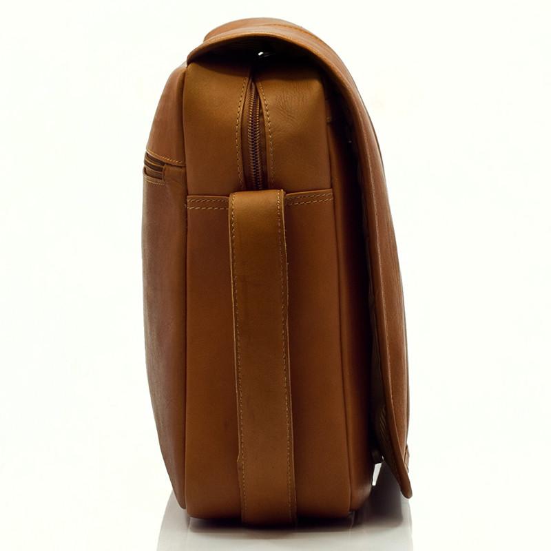 Muiska - Tokyo - Urban Messenger Bag Carrying case - detachable all leather adjustable strap