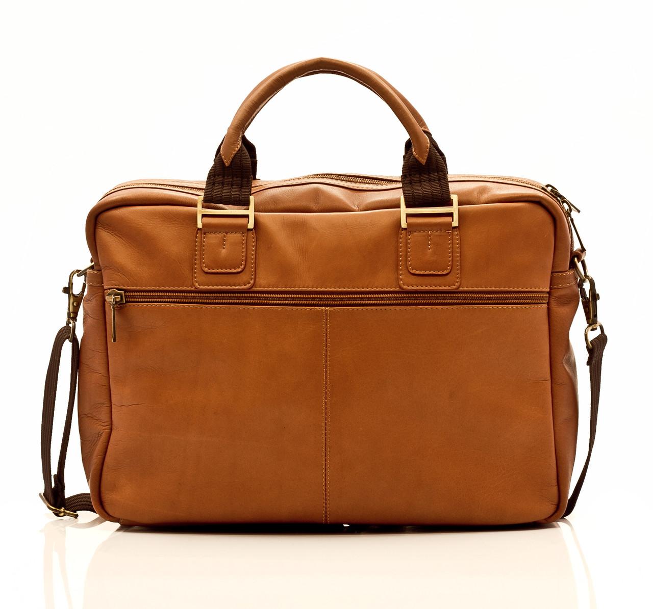 Muiska - Cairo - 15.6in Computer Bag - zippered pocket on back