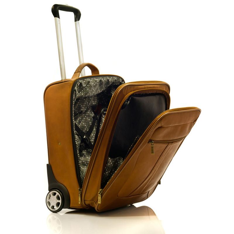Wheeled Traveler - Side Open View, Saddle