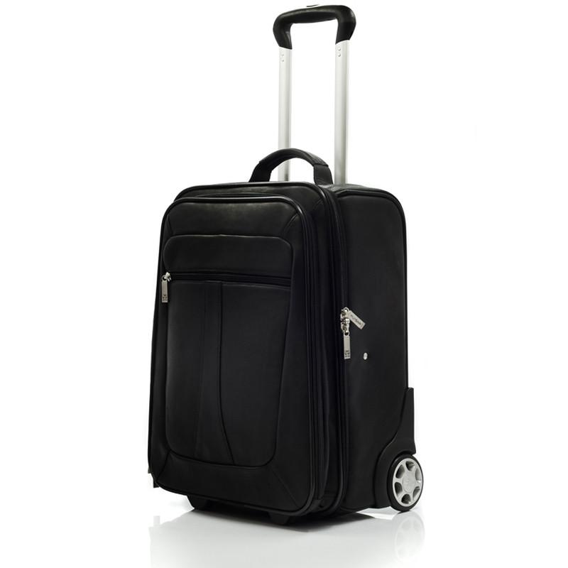 Wheeled Traveler - Front View, Black