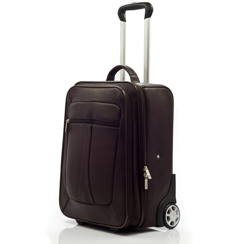 Wheeled Traveler - Front View, Brown
