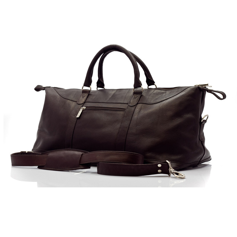 Madrid - 27in Duffel Bag - Front View, Brown
