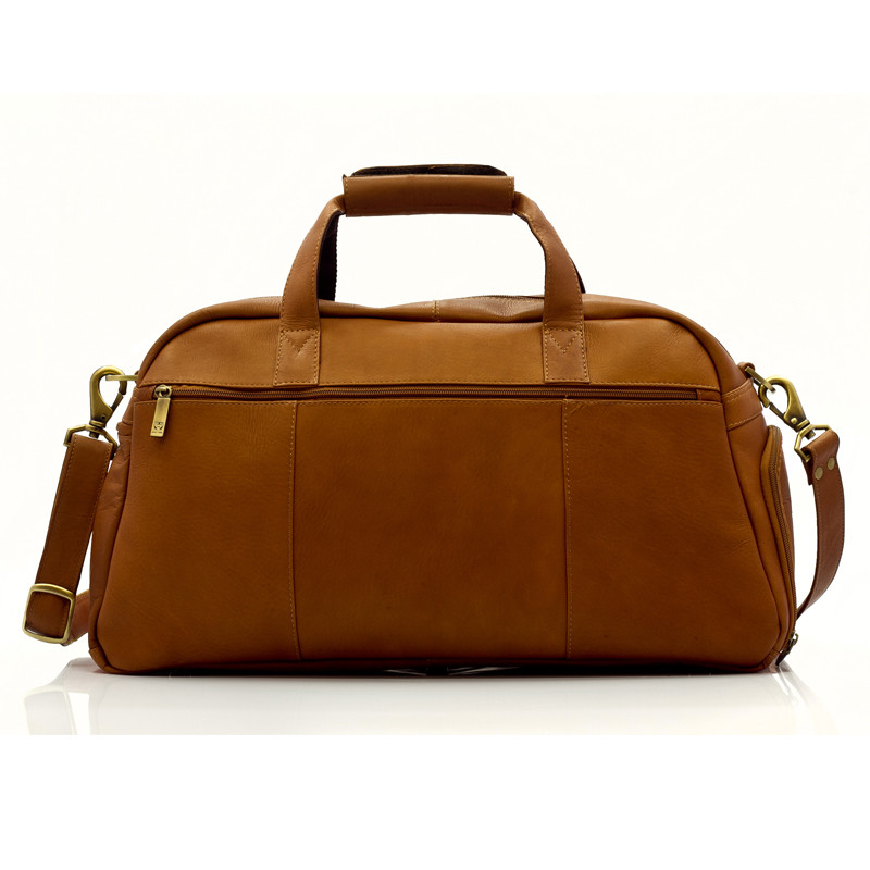 Muiska - Luis - Carry On Duffel Bag features a zippered back pocket