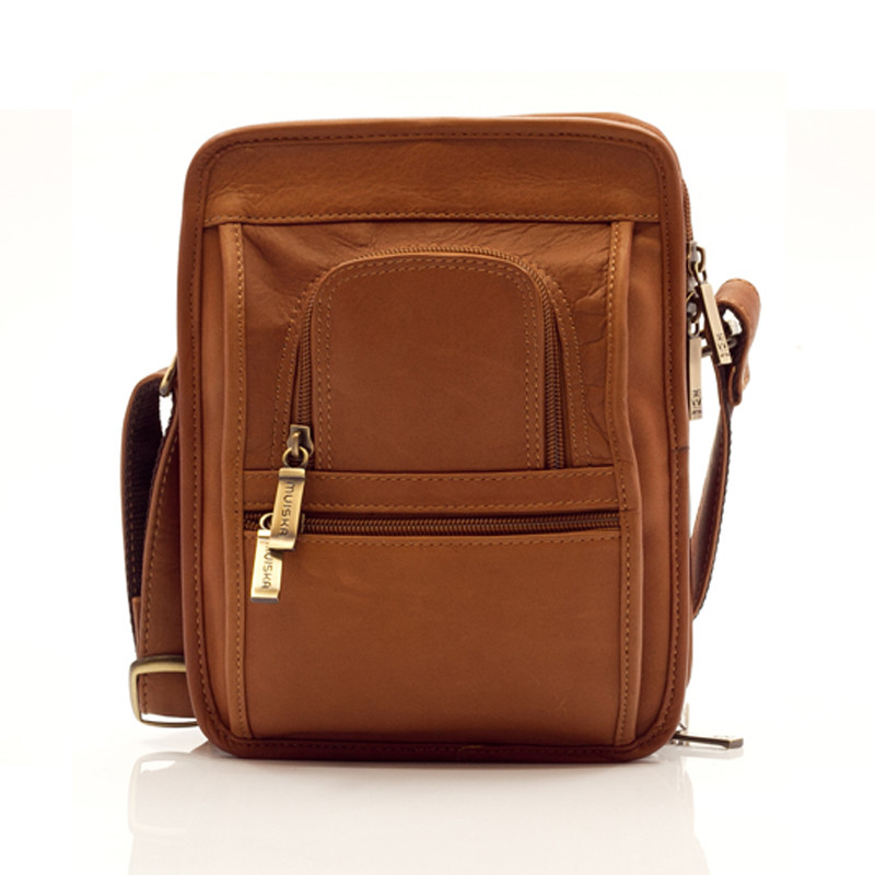 Muiska - Daniel - Men's satchel bag features two convenient front pockets
